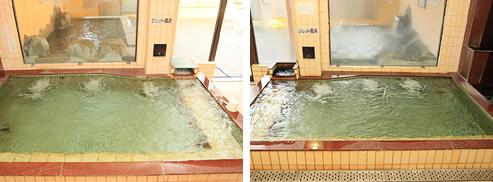 サウナ・ジェットバス・バイブラバス・漢方薬湯・水風呂